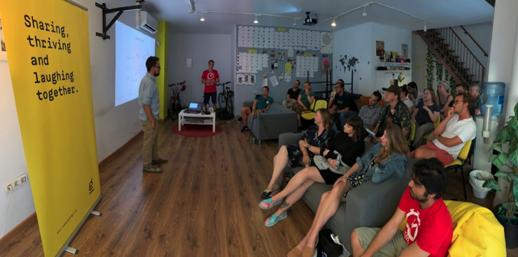 Community Event at TLR Coworking