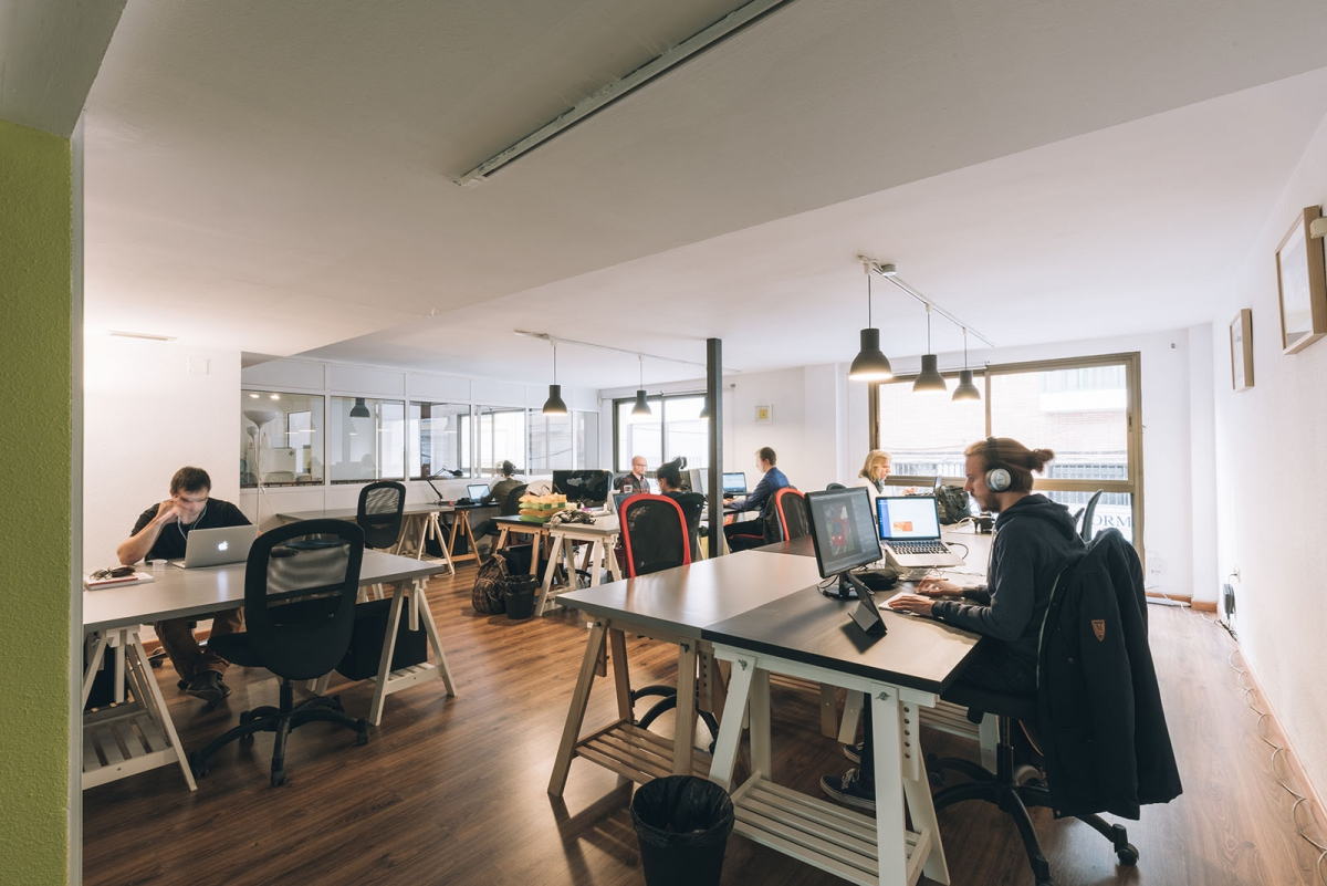 Coworking Space in Málaga | The Living Room